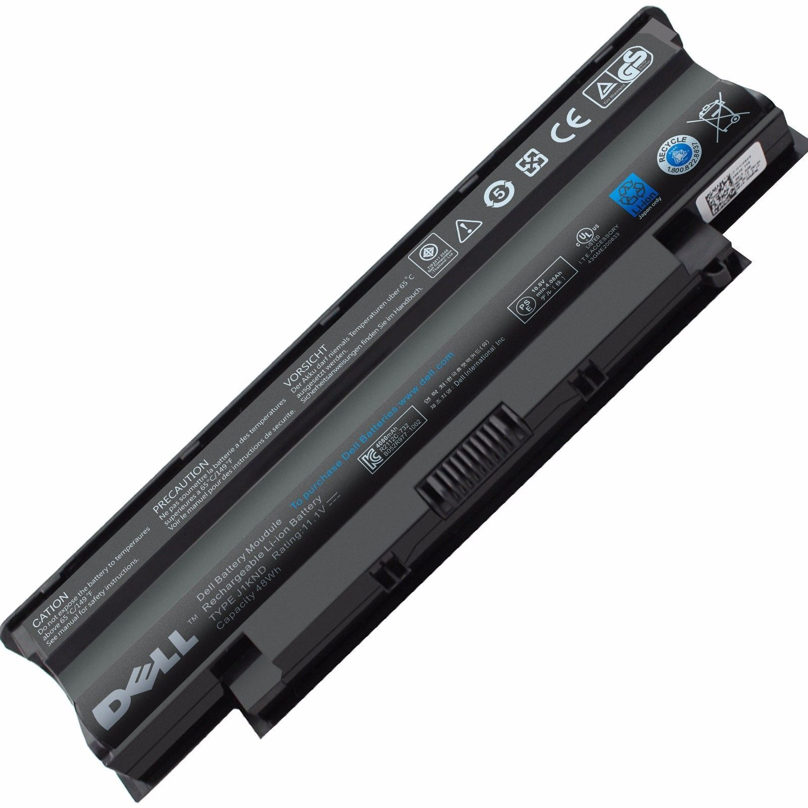 Original 48Wh Dell 04YRJH 06P6PN Battery