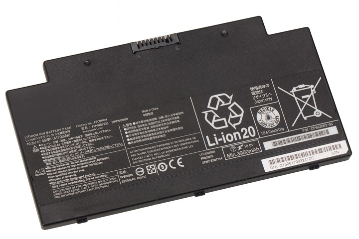 Original 45Wh 4170mAh Fujitsu LifeBook A556 Serie Battery