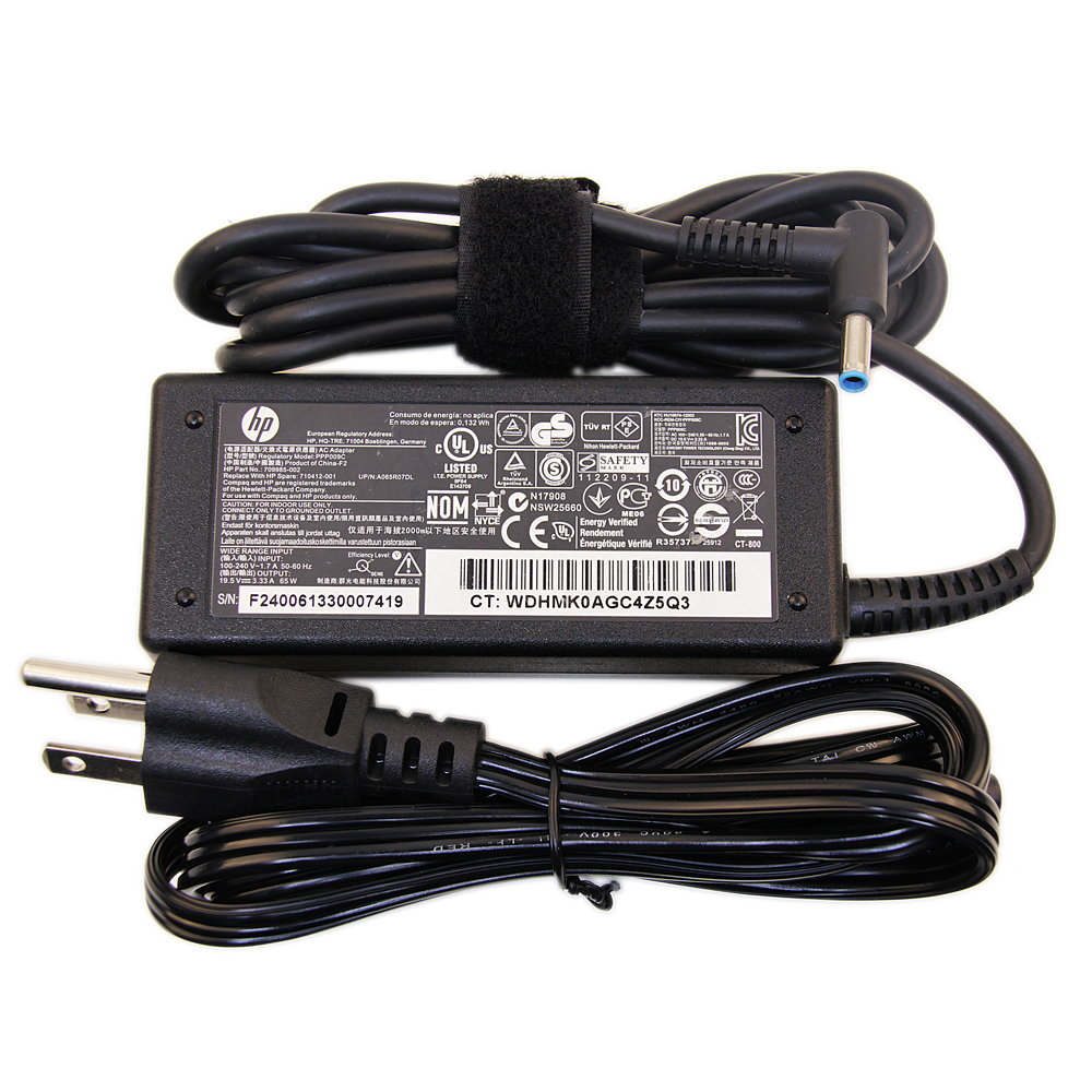 Original 65W HP Envy 15-aq100nb Z3E09EA Adapter Charger