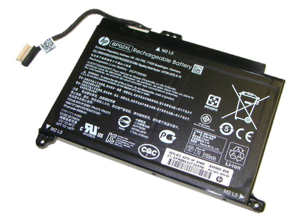 Original 41Wh Battery For HP 849569-541