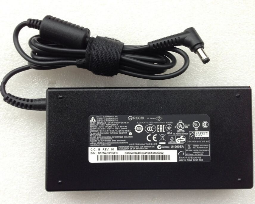 120W MSI GP72 6QF-295NE Leopard Pro Adapter Charger